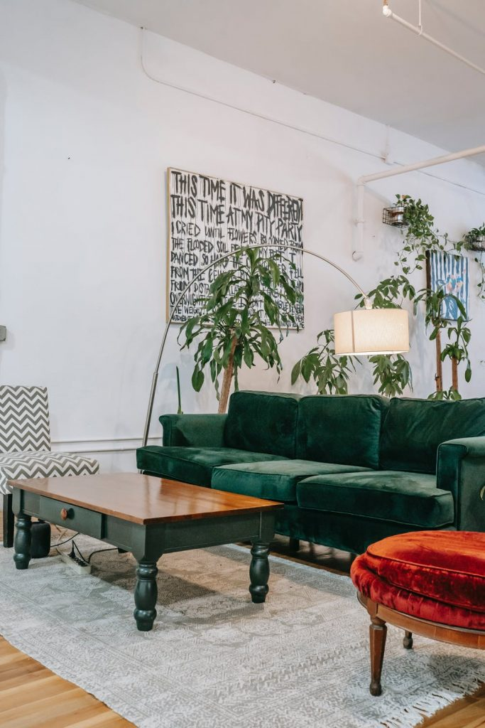 furniture in a shop