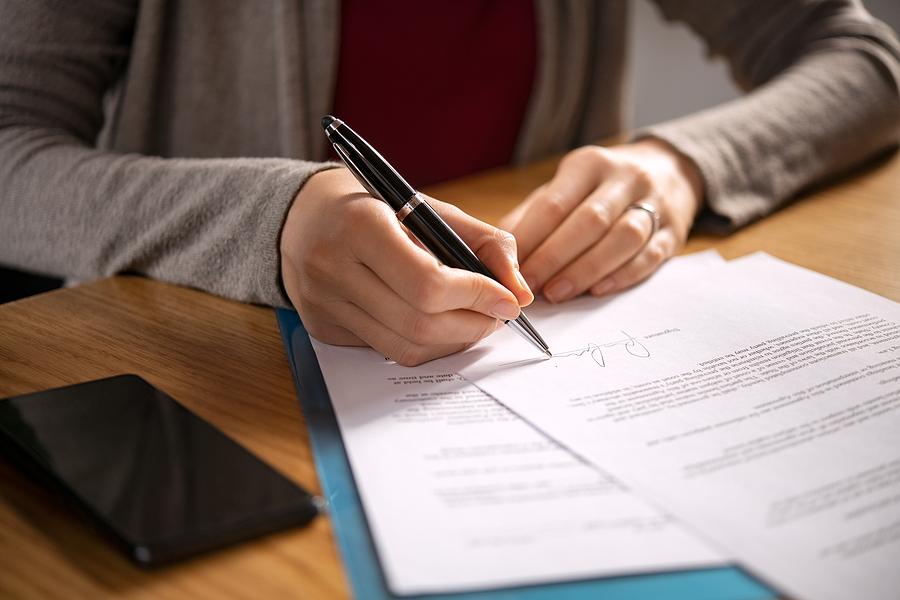 Plan manager finalizing an NDIS plan